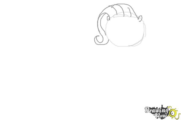 How to Draw My Little Pony Characters, Kawaii - Step 3