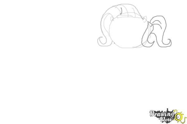 How to Draw My Little Pony Characters, Kawaii - Step 4