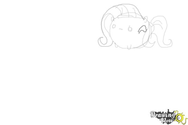 How to Draw My Little Pony Characters, Kawaii - Step 6