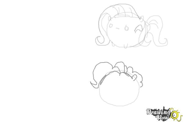 How to Draw My Little Pony Characters, Kawaii - Step 8