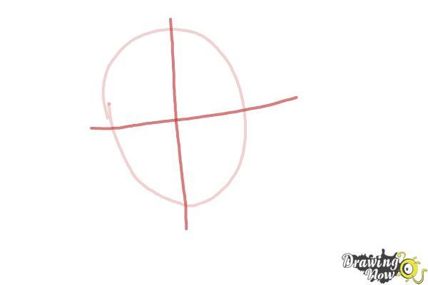 How to Draw Hermione Granger, Manga - Step 2