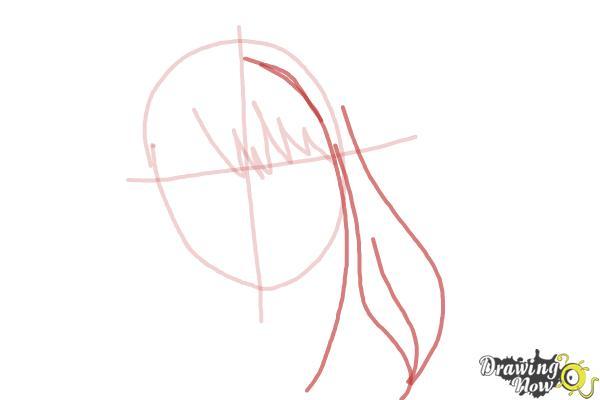 How to Draw Hermione Granger, Manga - Step 4