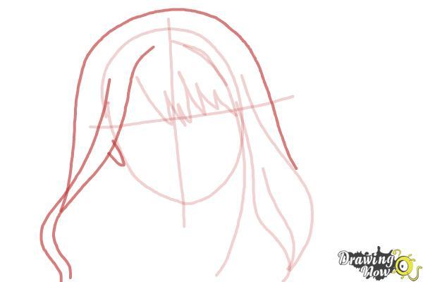 How to Draw Hermione Granger, Manga - Step 5