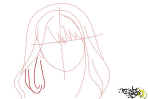 How to Draw Hermione Granger, Manga - Step 6