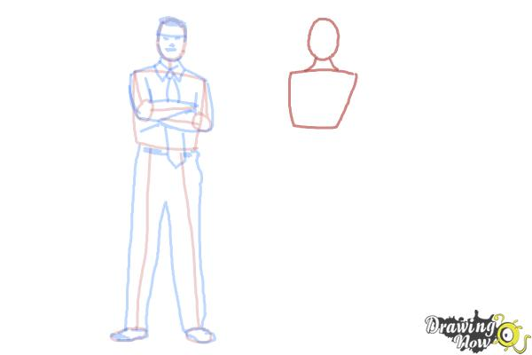 How to Draw Real People - Step 10