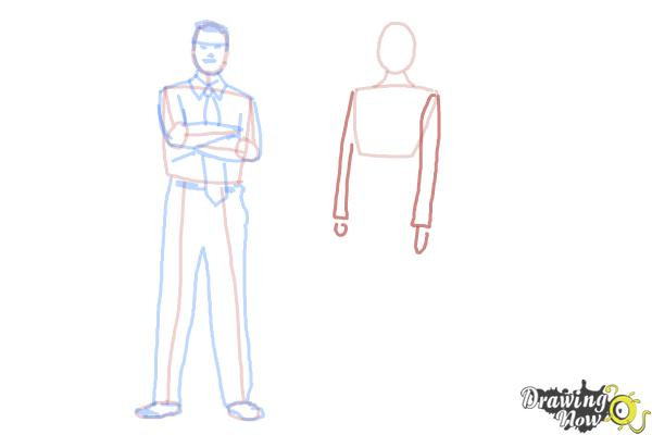 How to Draw Real People - Step 11