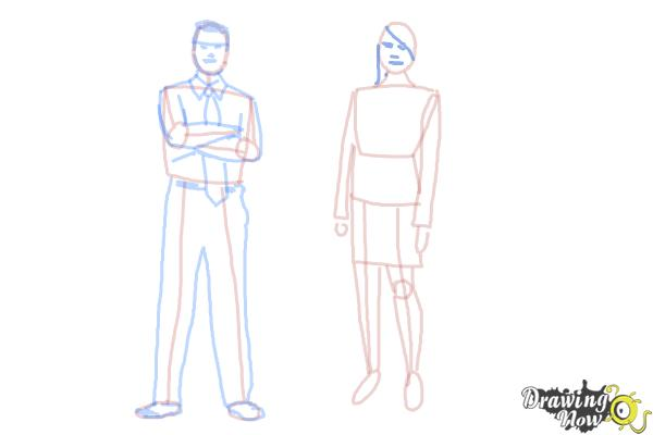 How to Draw Real People - Step 14