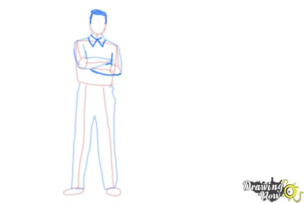 How to Draw Real People - Step 7