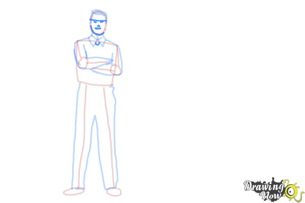 How to Draw Real People - Step 8