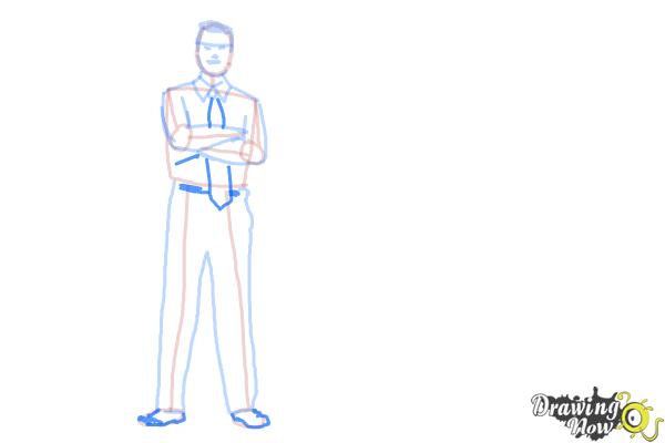 How to Draw Real People - Step 9