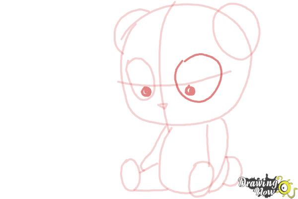 How to Draw a Panda For Kids - Step 10