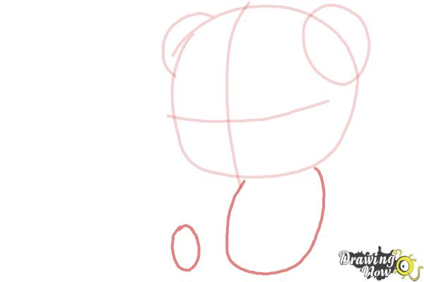 How to Draw a Panda For Kids - Step 4