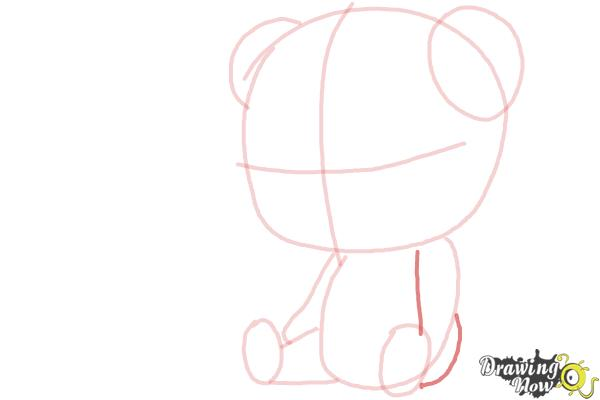 How to Draw a Panda For Kids - Step 7