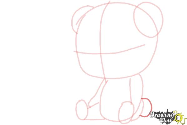 How to Draw a Panda For Kids - Step 8