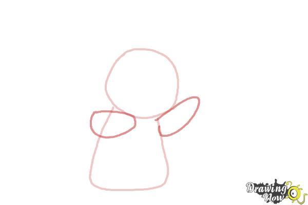 How to Draw Pikachu Step by Step - Step 2