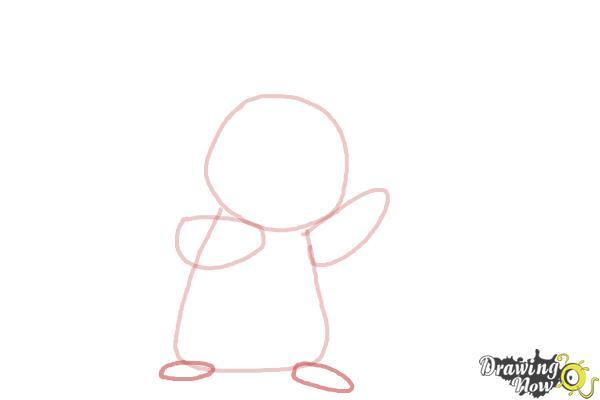 How to Draw Pikachu Step by Step - Step 3