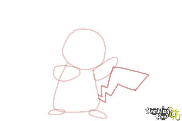 how to draw pokemon pikachu step by step