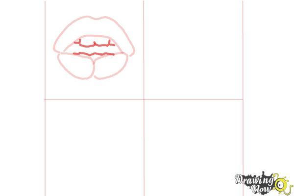 How to Draw Pop Art - Step 4