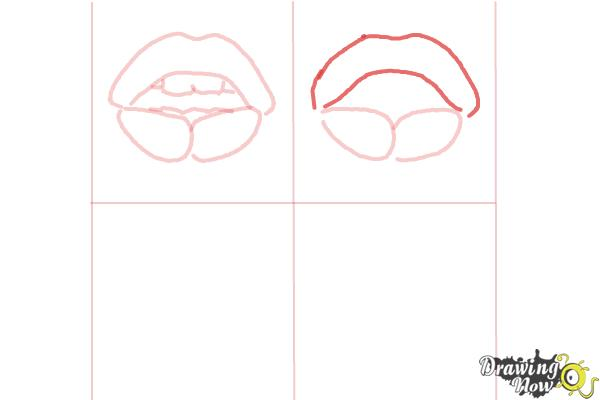How to Draw Pop Art - Step 6