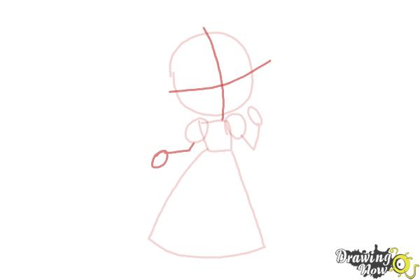 How to Draw a Princess For Kids - Step 4
