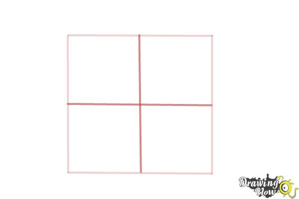 How to Draw Puzzle Pieces - Step 2