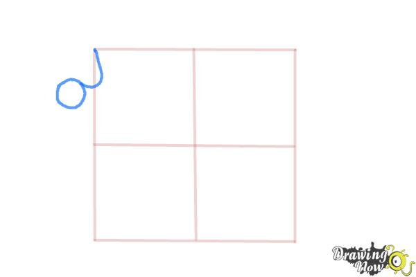 How to Draw Puzzle Pieces - Step 3