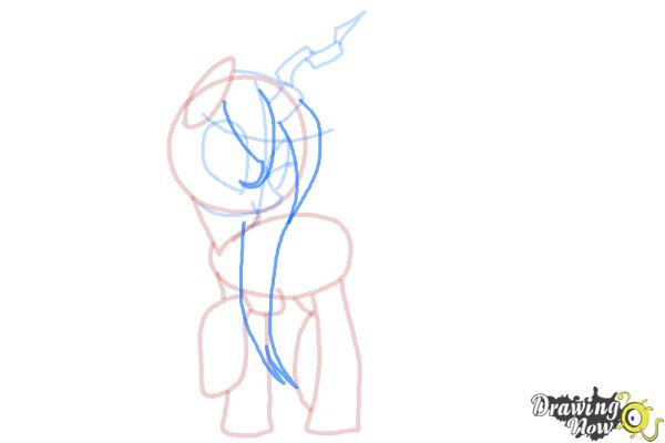 How to Draw Queen Chrysalis from My Little Pony Friendship Is Magic - Step 10