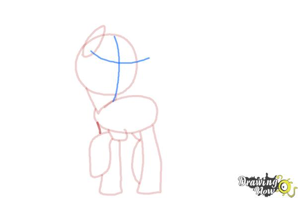 How to Draw Queen Chrysalis from My Little Pony Friendship Is Magic - Step 6