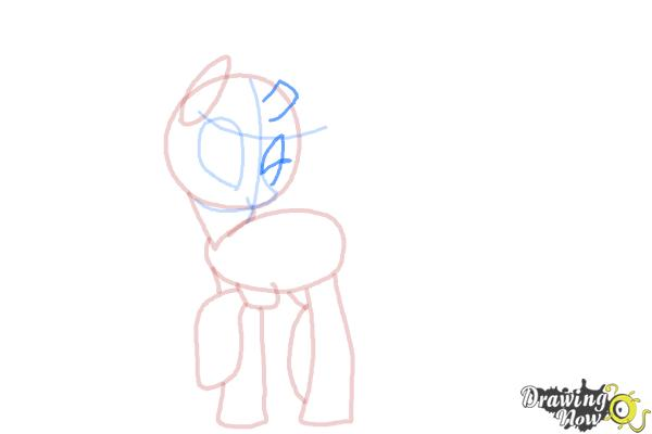How to Draw Queen Chrysalis from My Little Pony Friendship Is Magic - Step 8