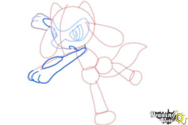 How to Draw Riolu - Step 11