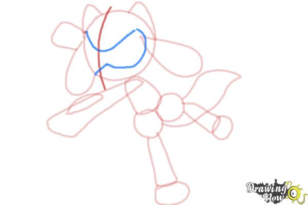How to Draw Riolu - Step 8
