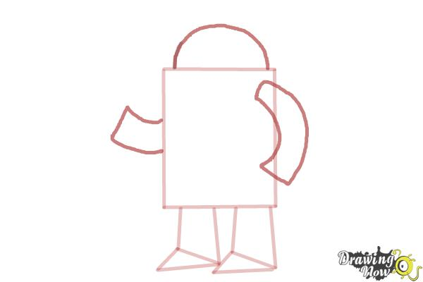 how to draw a robot step by step tutorial