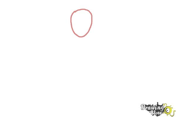 How to Draw Rosalina - Step 1