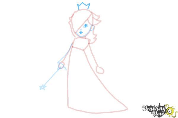 How to Draw Rosalina - Step 10