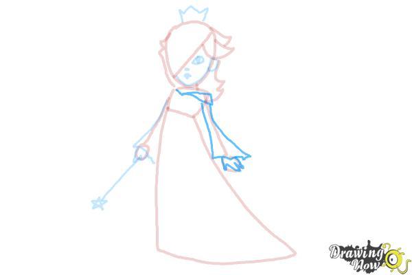 How to Draw Rosalina - Step 11