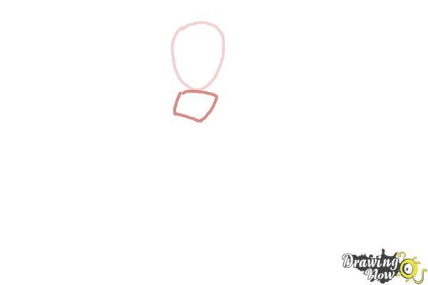 How to Draw Rosalina - Step 2