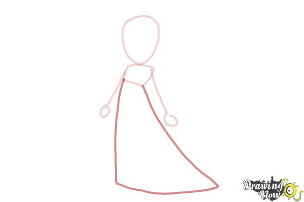 How to Draw Rosalina - Step 4