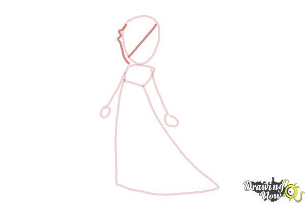 How to Draw Rosalina - Step 5