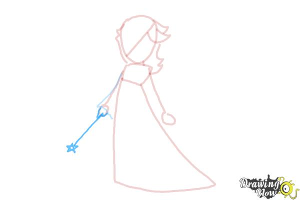 How to Draw Rosalina - Step 8