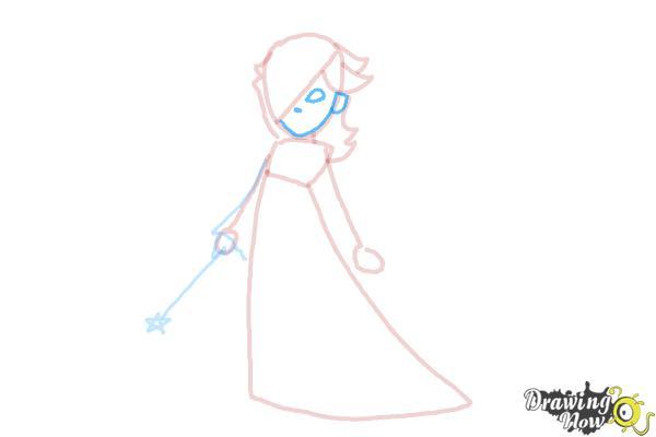 How to Draw Rosalina - Step 9
