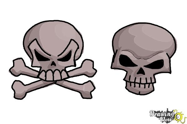 How To Draw Skulls Drawingnow