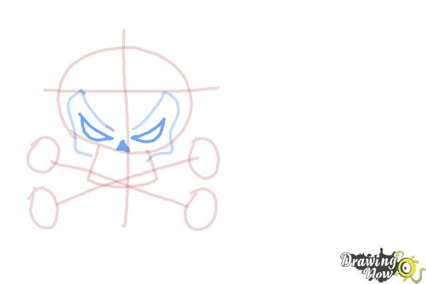 How to Draw Skulls - Step 5