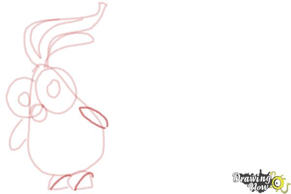 How to Draw Foodimals from Cloudy With a Chance Of Meatballs 2 - Step 7