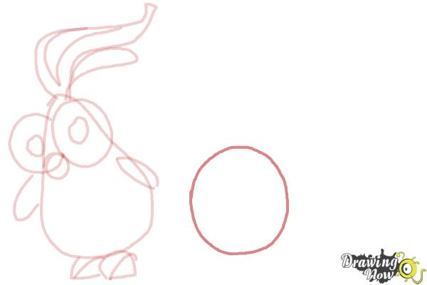 How to Draw Foodimals from Cloudy With a Chance Of Meatballs 2 - Step 8
