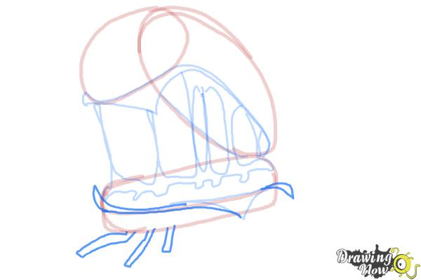 How to Draw Cheespider from Cloudy With a Chance Of Meatballs 2 - Step 9