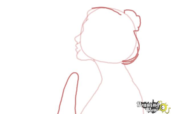 How to Draw a Silhouette - Step 5