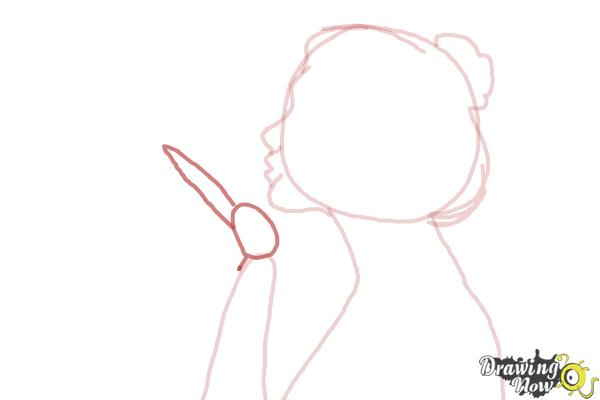 How to Draw a Silhouette - Step 6
