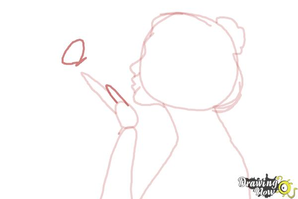 How to Draw a Silhouette - Step 7