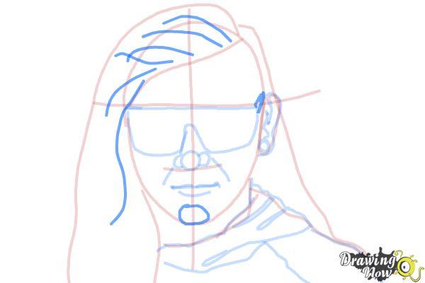 How to Draw Skrillex - Step 10
