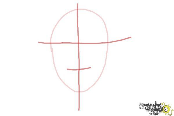 How to Draw Skrillex - Step 2
